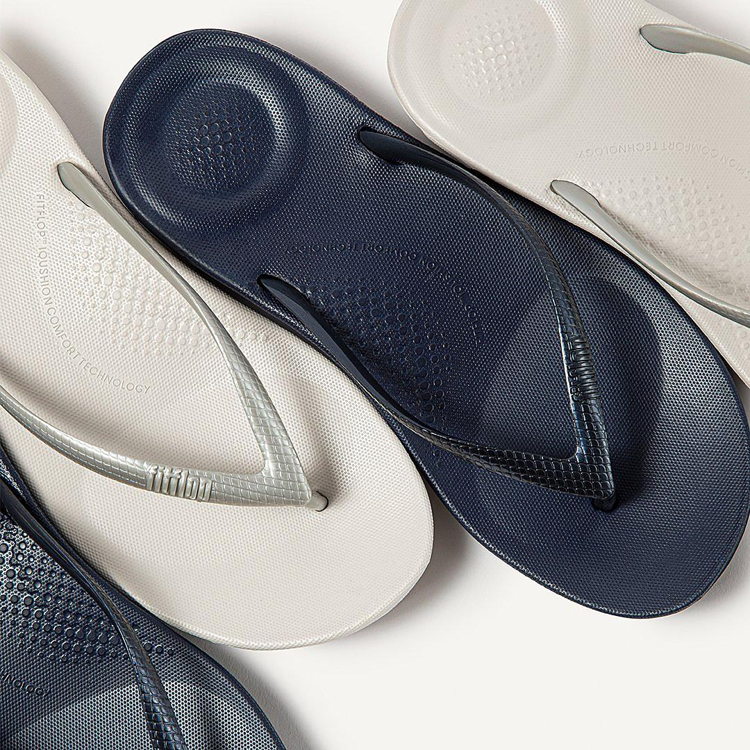 Women's IQUSHION Ergonomc Flip Flops