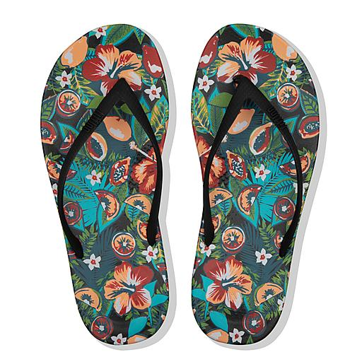 FitFlop iQushion Floral Flip Flops