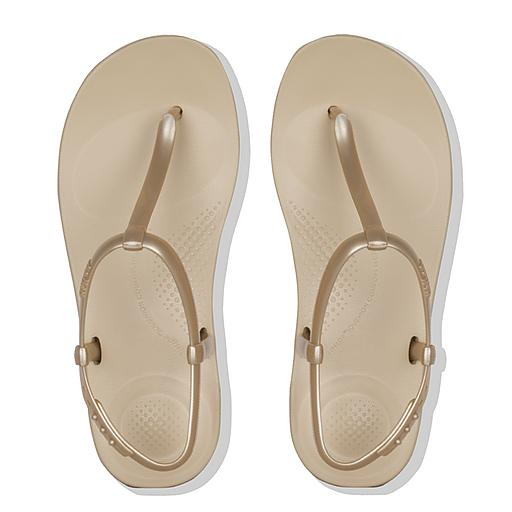 FitFlop iQushion Pearlised Flip Flops