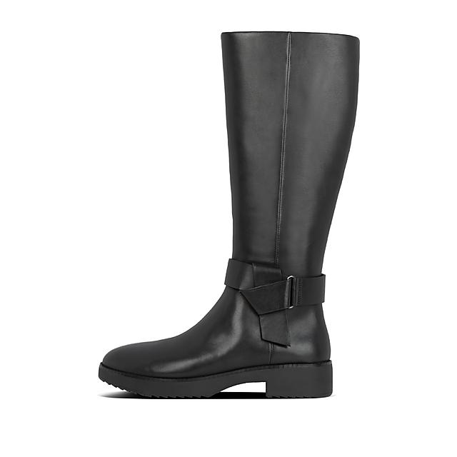 CA KNOT High Boots Knee Leather MoutardeFitflop 6y7gYbfv