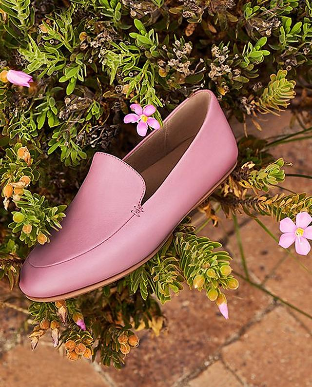 Fitflop Pink leather loafer