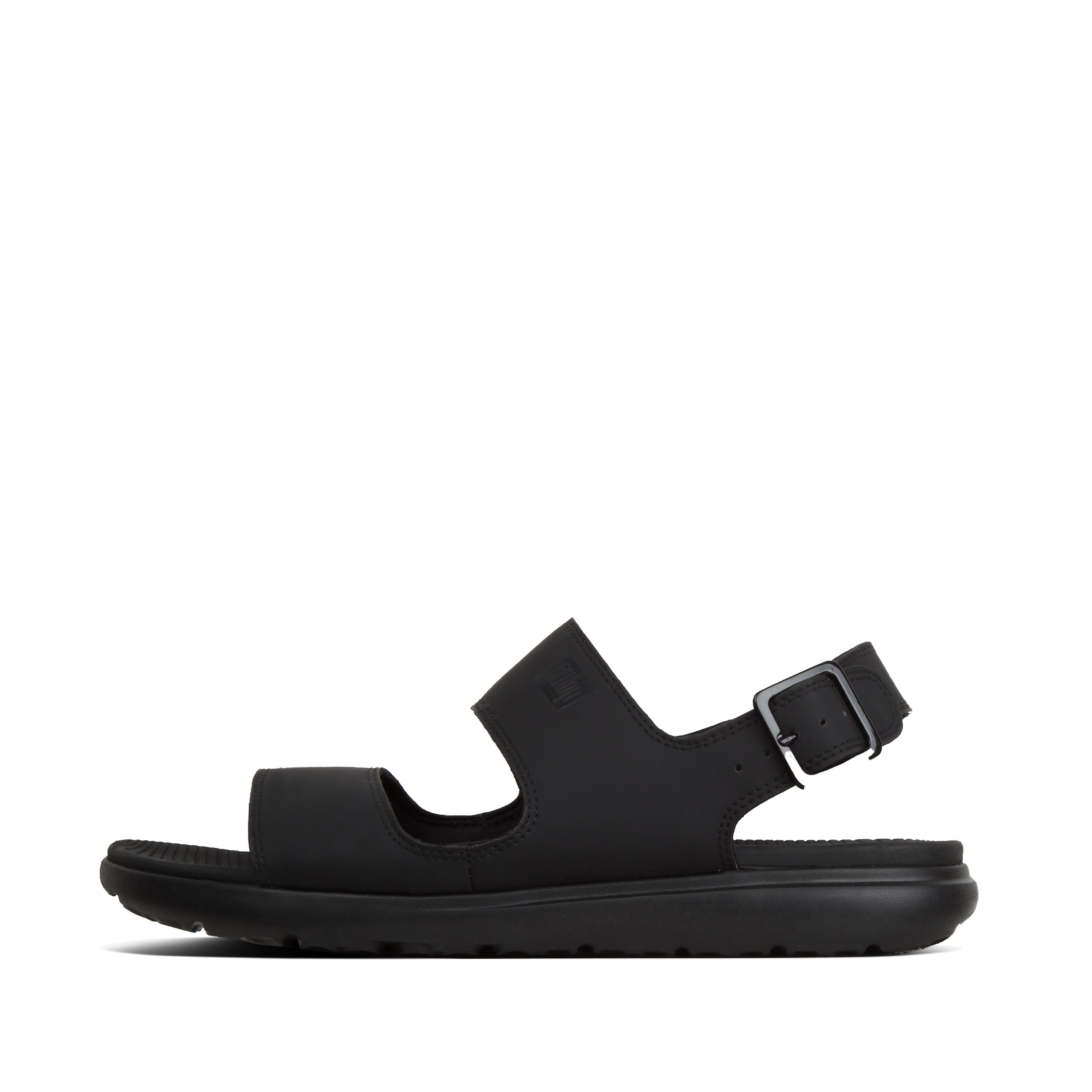 핏플랍 LIDO-II 샌들 Mens Neoprene Back-Strap-Sandals,Black