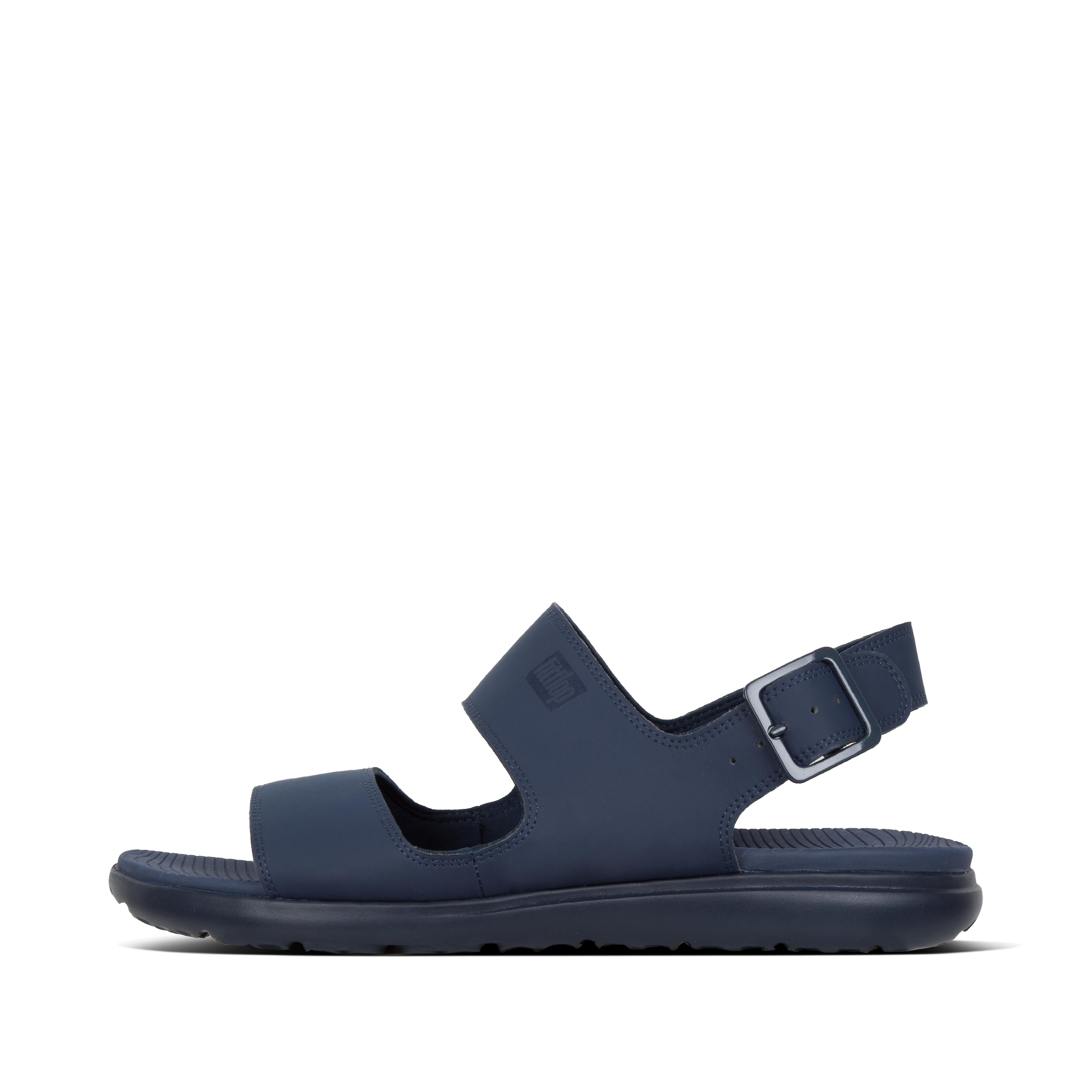 핏플랍 LIDO-II 샌들 Mens Neoprene Back-Strap-Sandals,Midnight Navy