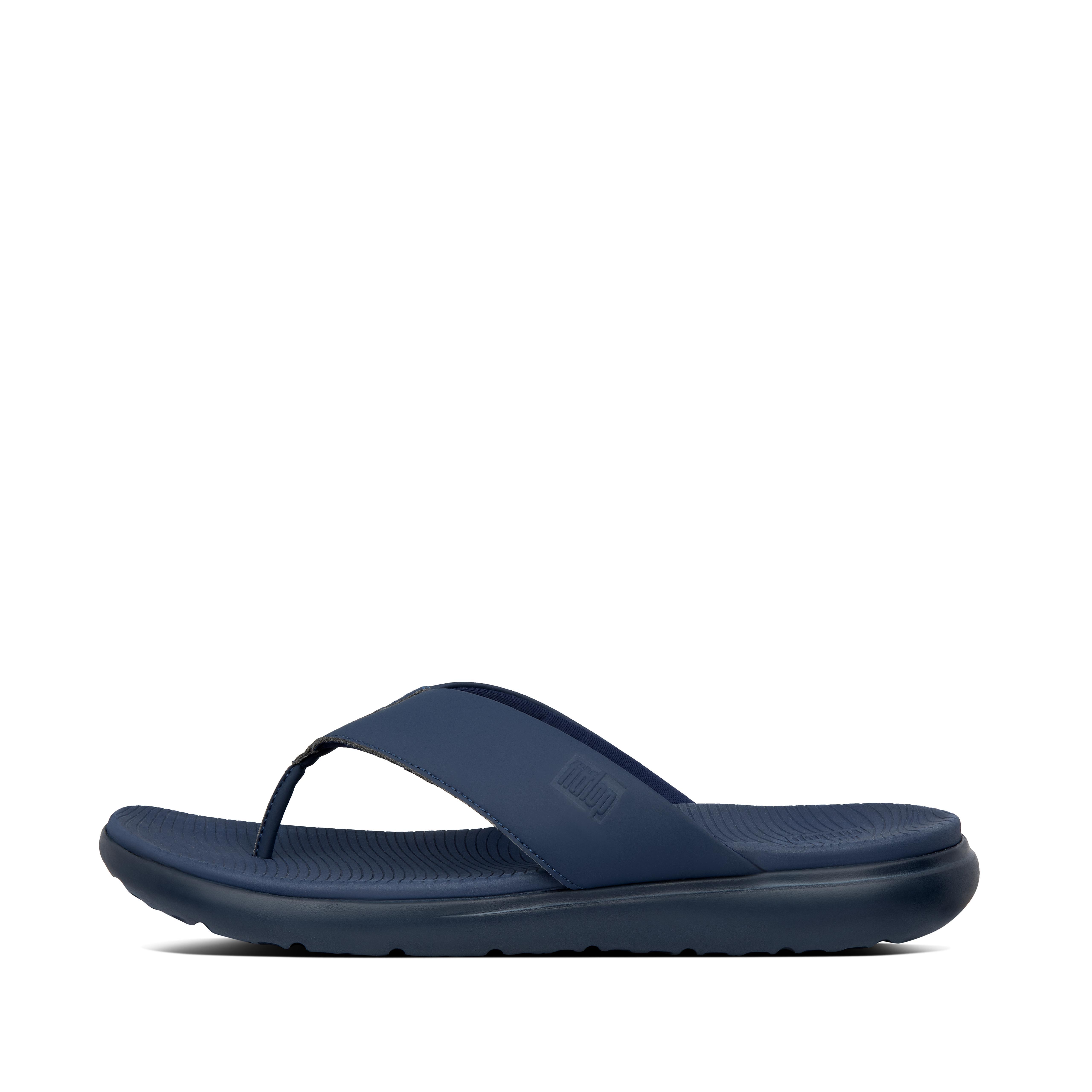 핏플랍 LIDO-II 샌들 Mens Lido-Ii Neoprene Toe-Post Sandals,Midnight Navy