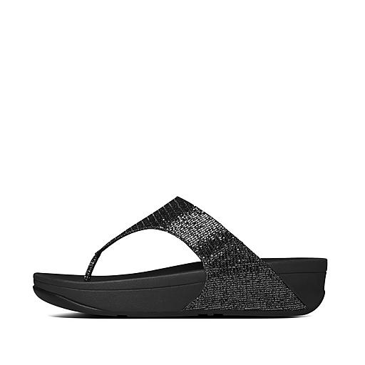 Image result for Fitflop Women's Lulu Superglitz Textile Sandal