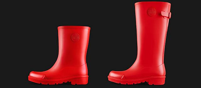 Fitflop Wonderwelly in red colour