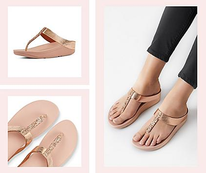 FitFlop Fino Sandals for Women.