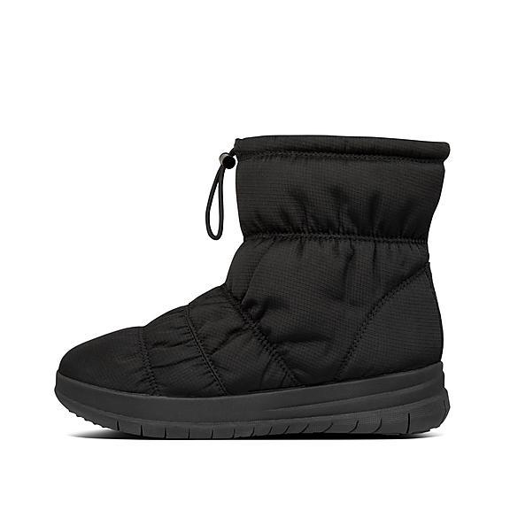핏플랍 리타 나일론 부츠 - 블랙 FitFlop Womens Rita Nylon Boots,All Black