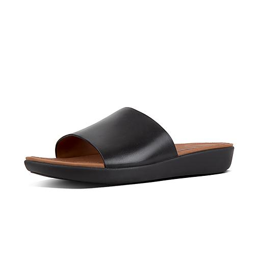 FitFlop Sola Leather Slides