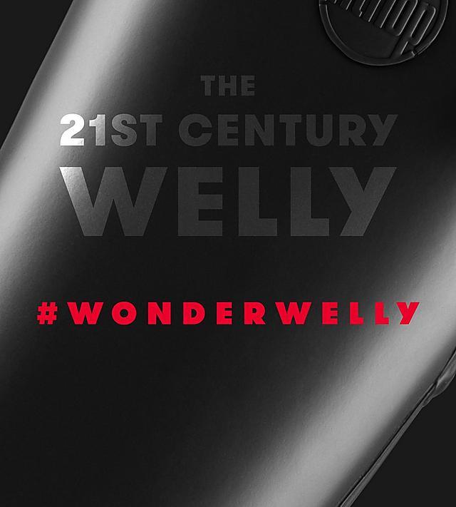 Fitflop WonderWelly, ladies black wellies.