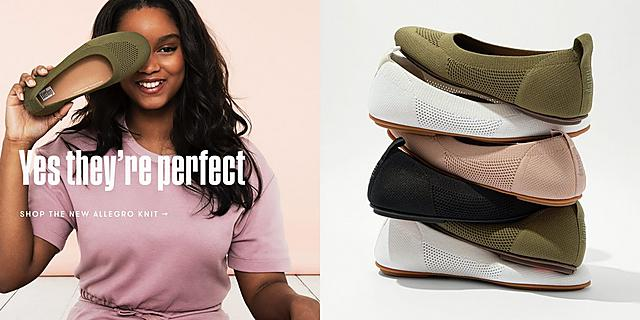 Shop Fitflop New Allegro Knit Collection