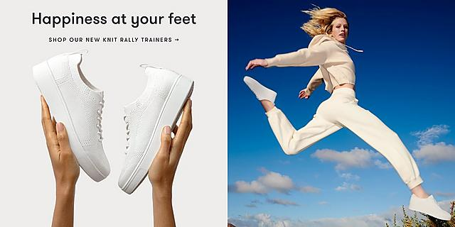 shop trainers at fitflop