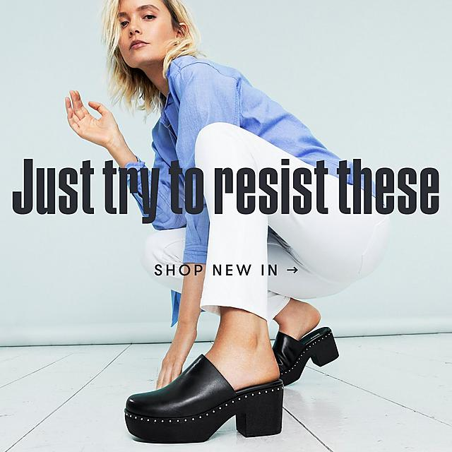 Shop Fitflop's new in collections on clogs