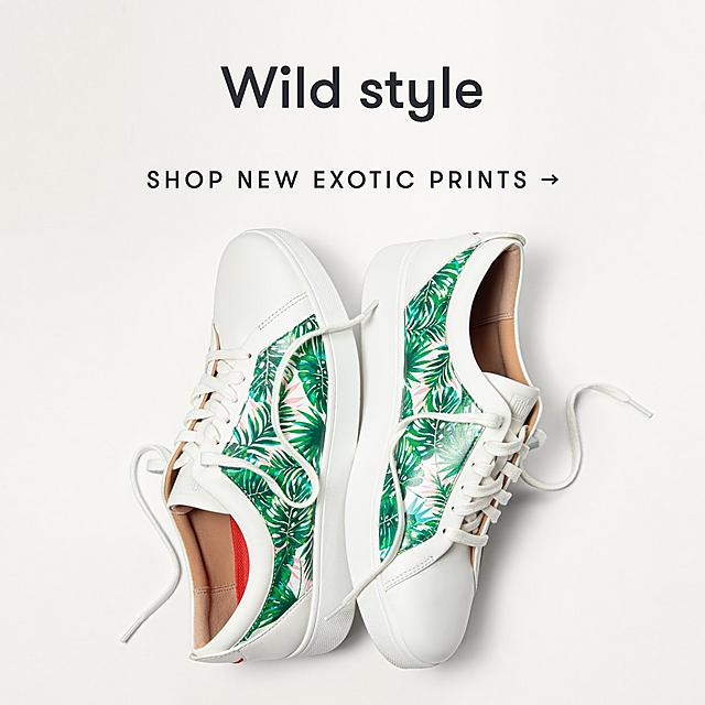 Shop Fitflop's wild pattern collection
