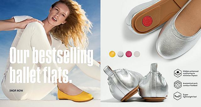 Shop Fitflop Ballerina Flats