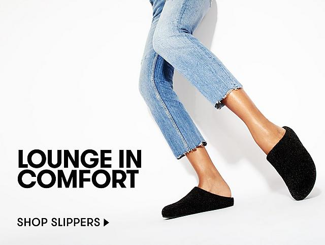 SHOP COMFY SLIPPERS