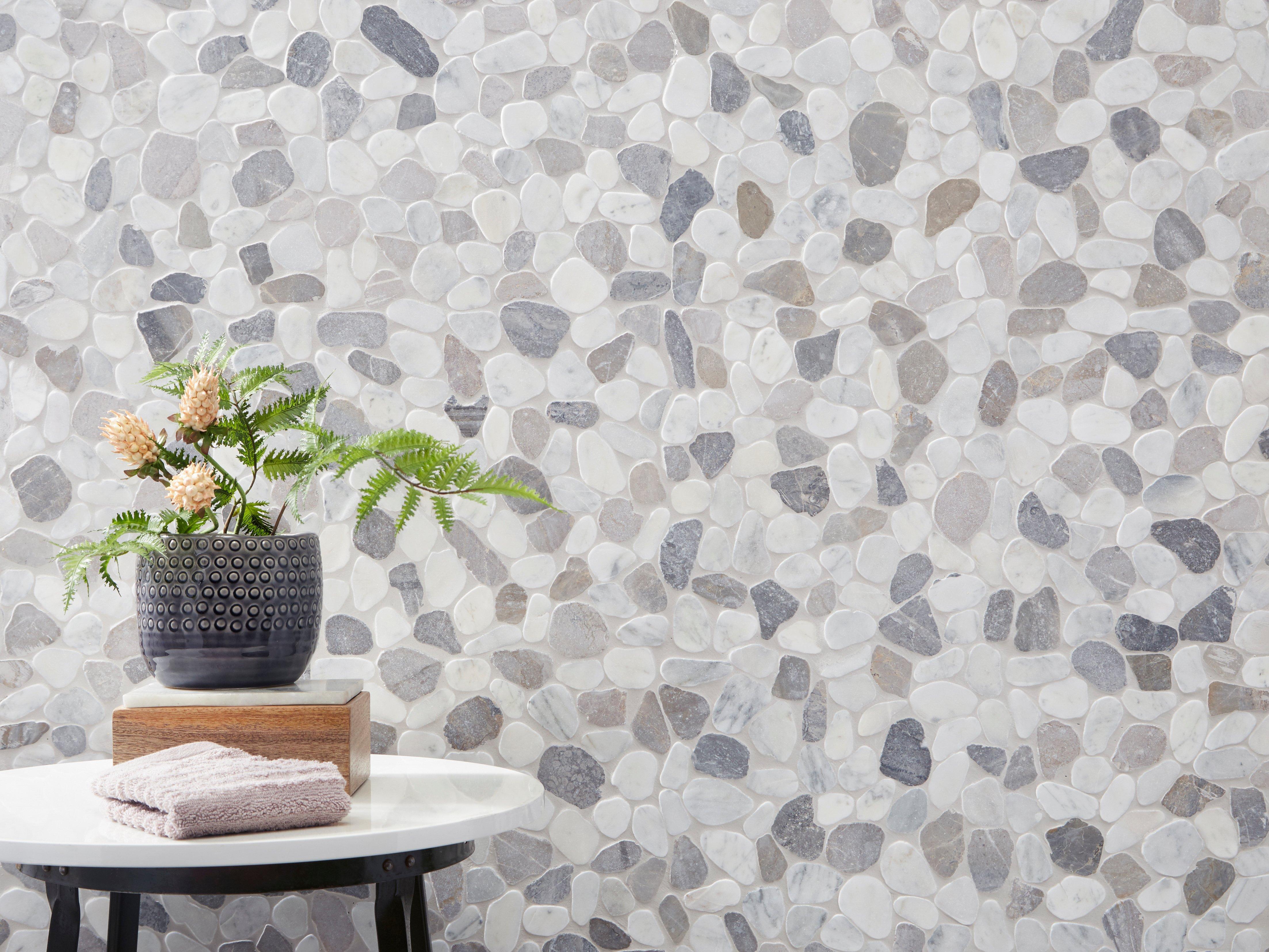 Stone Bathroom Tile Floor & Decor