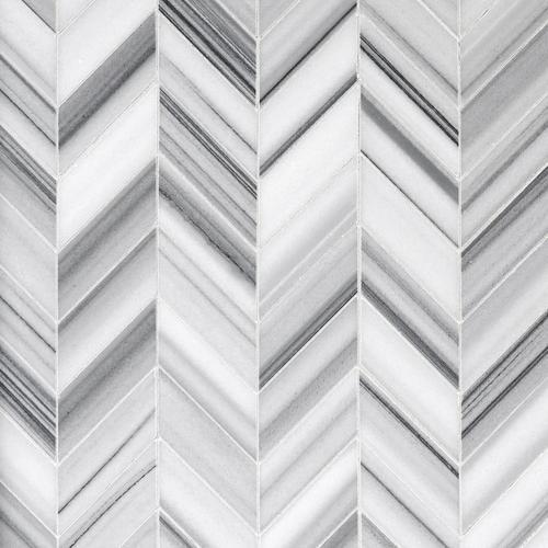 Skyfall Chevron Marble Mosaic 8 X 11 100248483 Floor And Decor