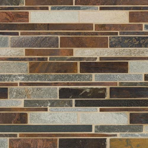 Copper Canyon Ii Metallic Mosaic 12 X 13 100255033 Floor And Decor