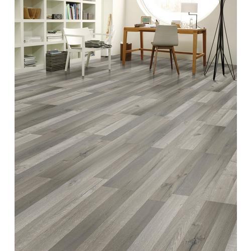 Calistoga Gray Matte Laminate 8mm, Grey Laminate Flooring For Bathrooms