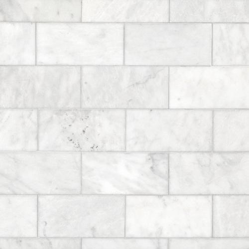 Carrara Milano Honed Marble Tile 6 X 12 100402569 Floor And Decor