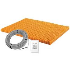 Schluter Ditra-Heat Kit 60.3 Sf Matt and 37.5 Sf Cable