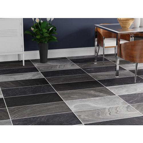 Black Honed Slate Tile 12 X 24, Leggiero Silver Blue Slate Effect Laminate Flooring