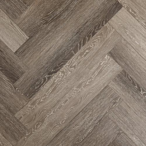 Stark Greige Herringbone Water, Herringbone Laminate Flooring
