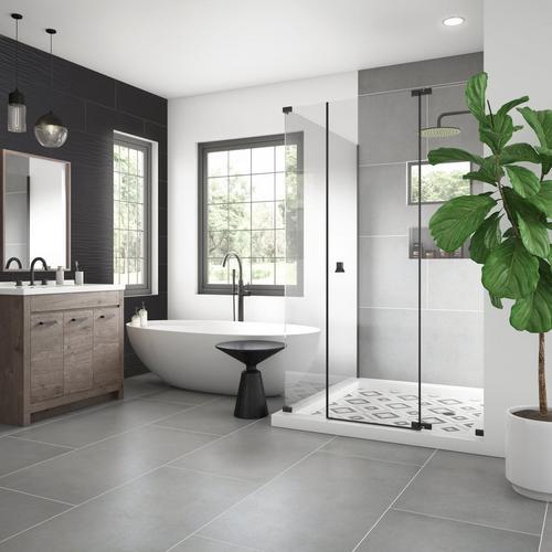 Concept Gray Porcelain Tile 24 X 48 100811777 Floor And Decor