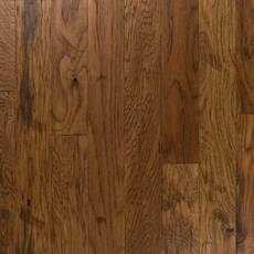 Light Brown Hickory Hand Scraped Locking Engineered Hardwood