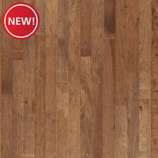 New! Molasses Hickory Smooth Solid Hardwood