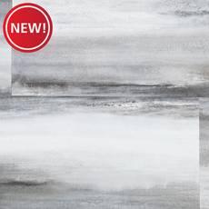 New! Lisbon Seafoam Rigid Core Luxury Vinyl Tile - Foam Back