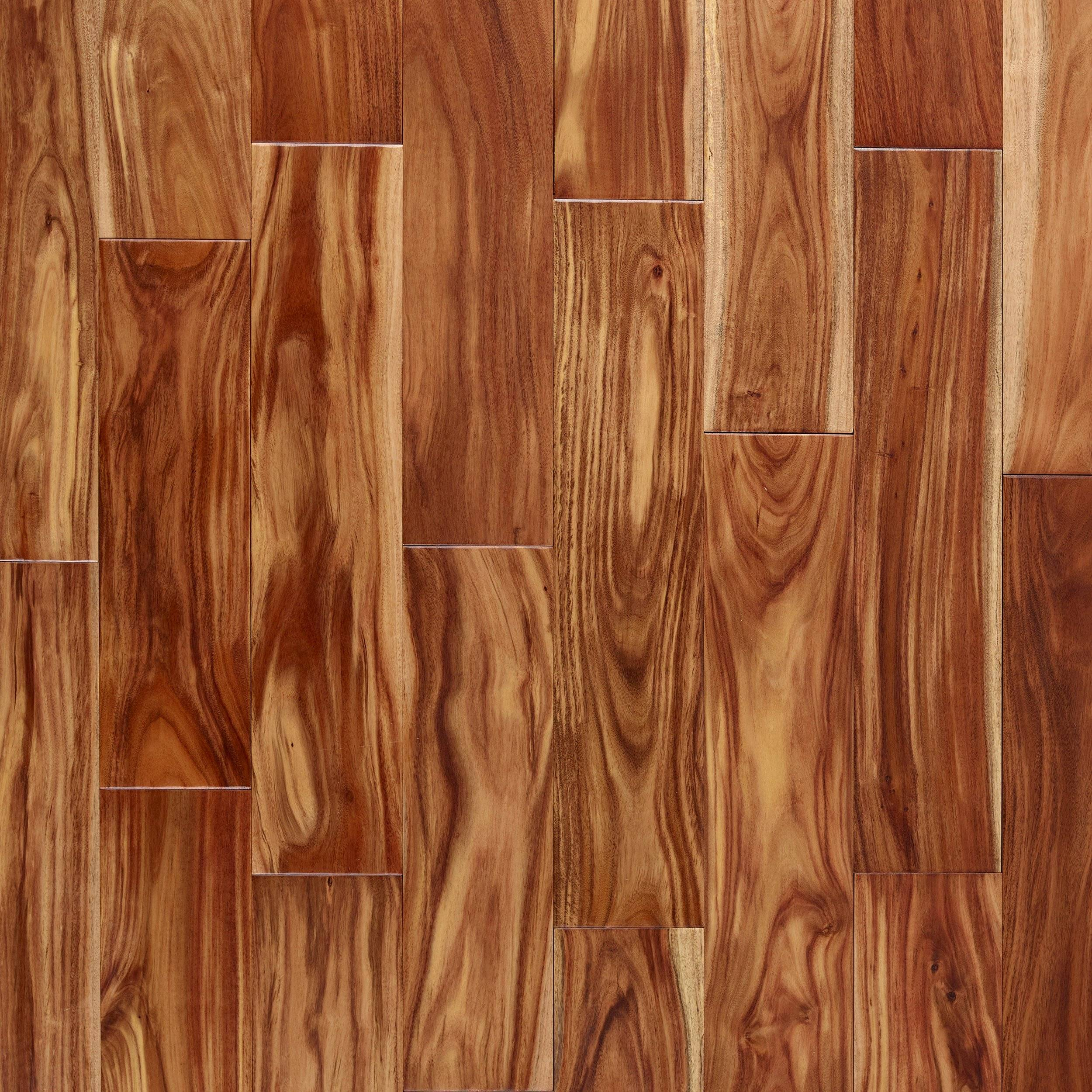 New! Buford Acacia Wire-Brushed Solid Hardwood