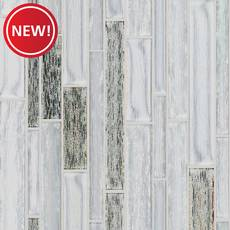 New! Arctic Linear Glass Mosaic