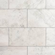 Bianco Nuvoloso Polished Marble Tile