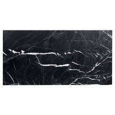 Ryker Black Leathered Marble Tile