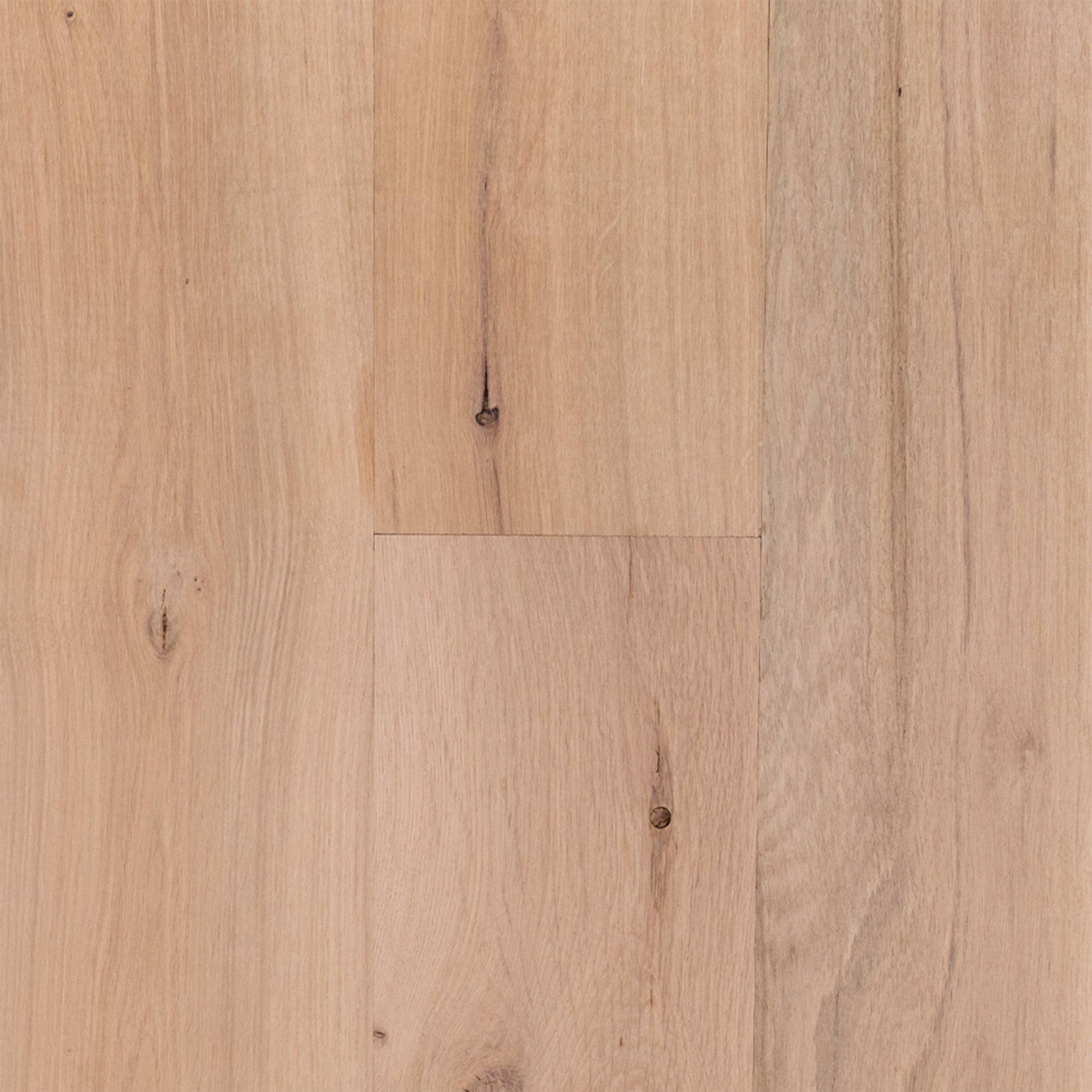 New! Unfinished White Oak Engineered Hardwood Character Grade