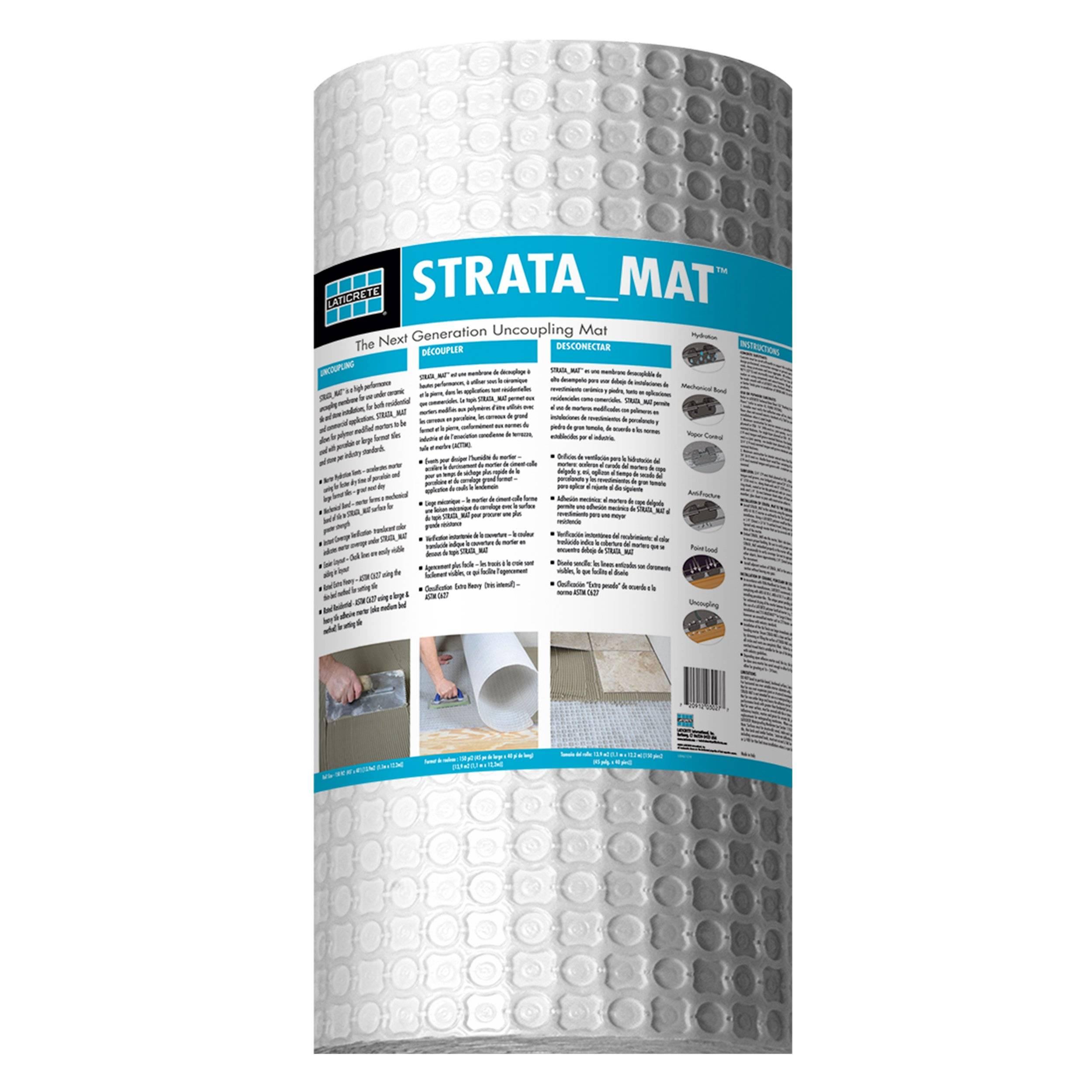 New! Laticrete Strata Mat 323sqft.
