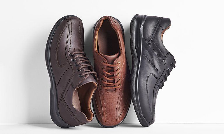 Leather and nubuck