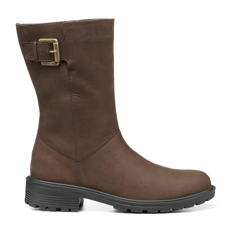 70s Shoes, Platforms, Boots, Heels | 1970s Shoes Bella Boots - Chocolate - Standard Fit - 9 £139.00 AT vintagedancer.com