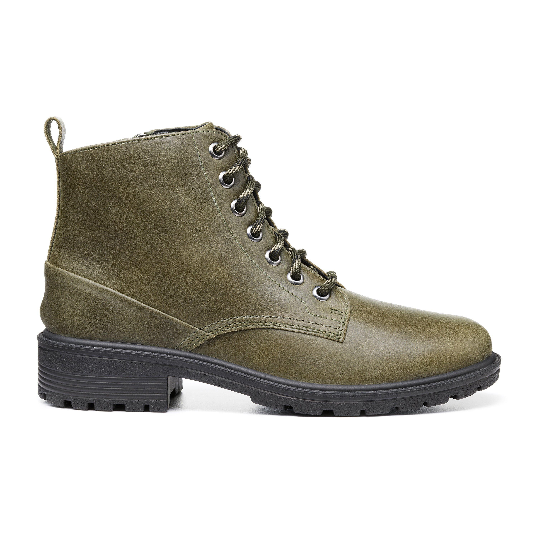 70s Shoes, Platforms, Boots, Heels | 1970s Shoes Clarence Boots - Khaki Standard Fit 11 $179.00 AT vintagedancer.com