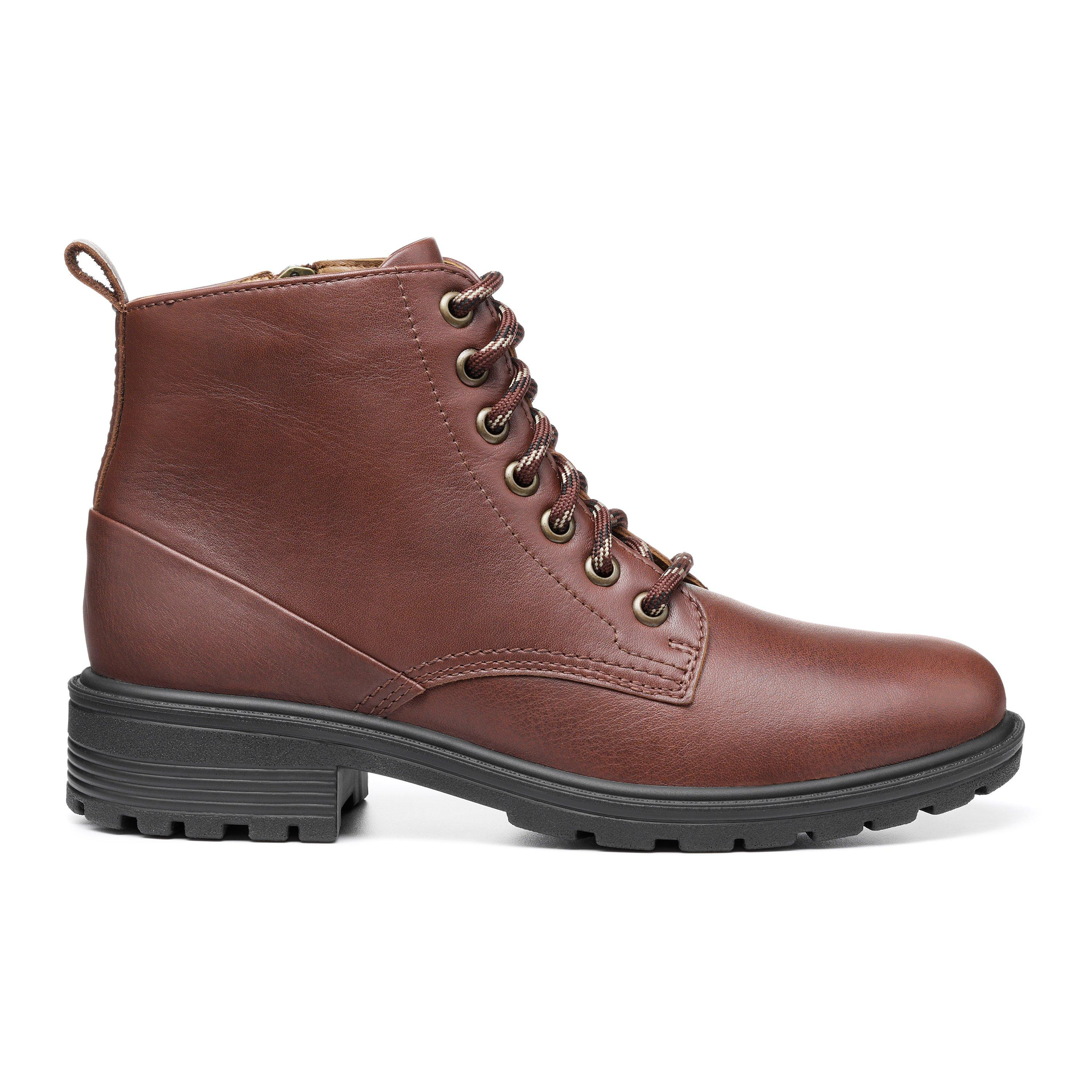 Vintage Winter Retro Boots – Snow, Rain, Cold Clarence Boots - Mahogany Standard Fit 11 $179.00 AT vintagedancer.com