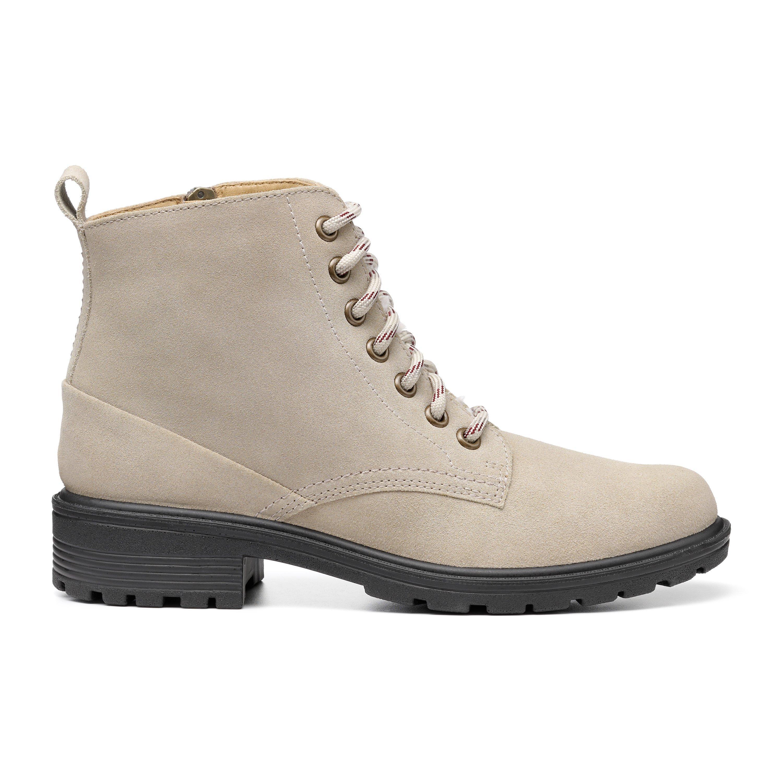 70s Shoes, Platforms, Boots, Heels | 1970s Shoes Clarence Boots - Sand Standard Fit 11 $179.00 AT vintagedancer.com