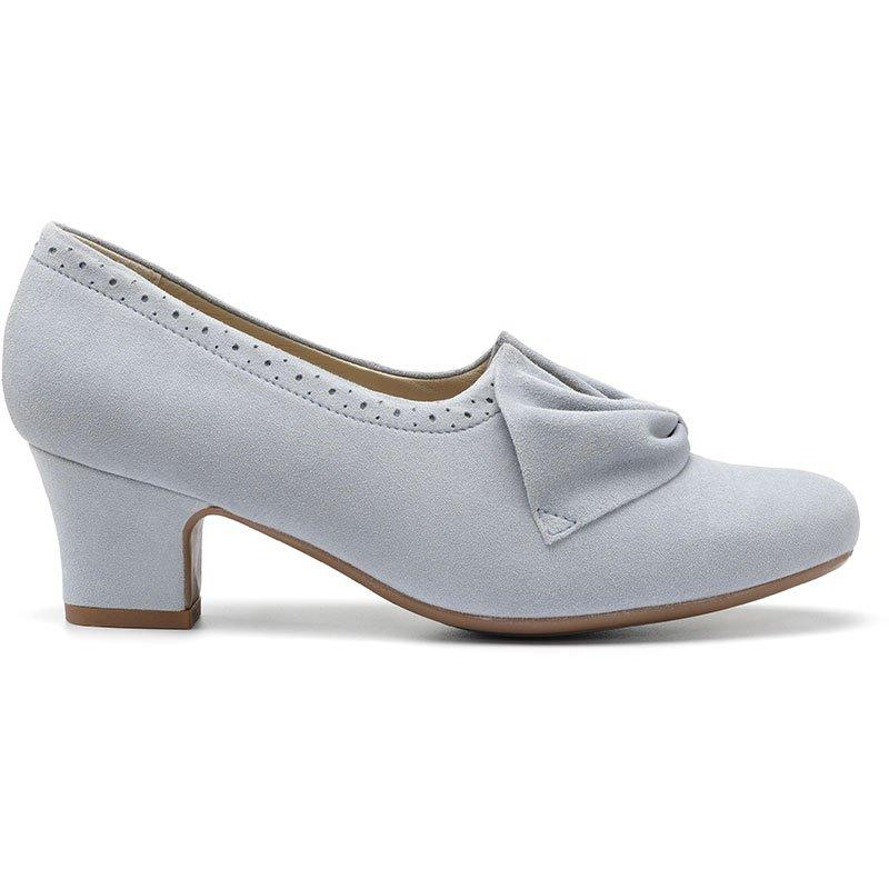 Vintage Heels, Retro Heels, Pumps, Shoes Donna Heels - Sky Brogue - Standard Fit - 9 £19.00 AT vintagedancer.com