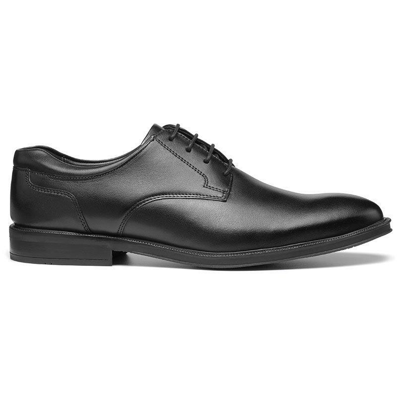 60s Mens Shoes   70s Mens shoes – Platforms, Boots Eaton Shoes - Black Standard Fit 13 $155.00 AT vintagedancer.com