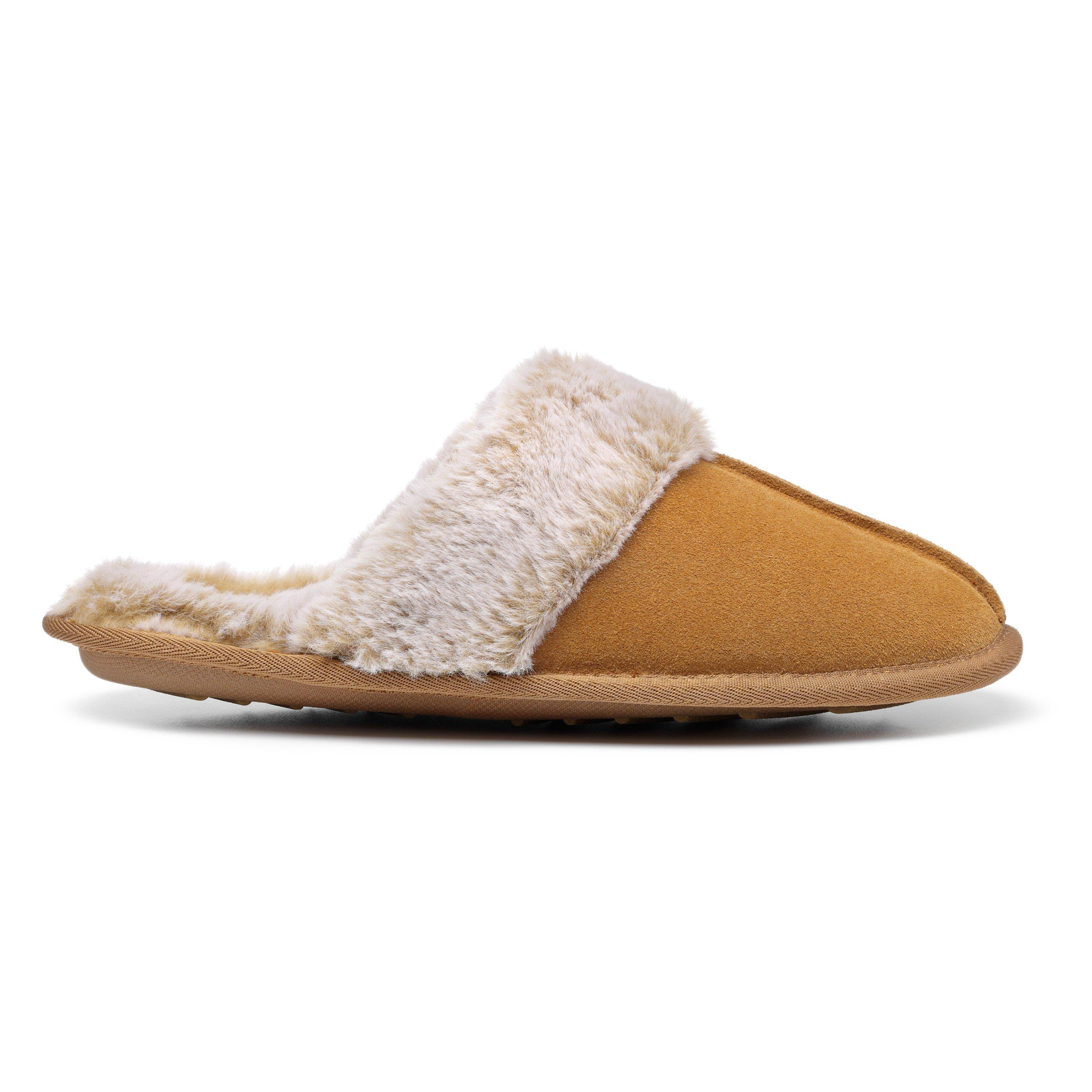 Hotter Women/'s Wrap Slipper Suede Touch Fastening Adult Slippers Casual Slipper