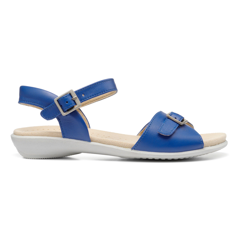 1950s Shoe Styles: Heels, Flats, Sandals, Saddle Shoes Tropic II - True Blue Standard Fit 11 $105.00 AT vintagedancer.com