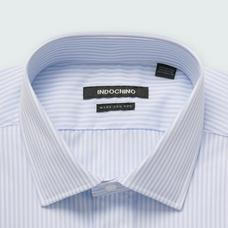 White shirt - Helston Striped Design from Premium Indochino Collection