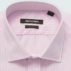 Pink shirt - HELSTON Striped Design from Premium Indochino Collection