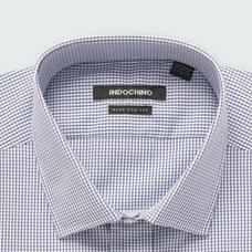 Black shirt - Helston Checked Design from Premium Indochino Collection